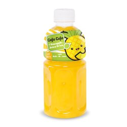 Cojo Cojo Pineapple Fruit Juice With Nata De Coco 320 Ml