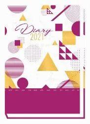 Flora Corporate Executive Diary Excel A1