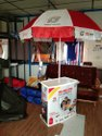 Promotional Table With Umbrella