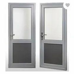 Aluminium Powder Coated Aluminum Bathroom Door