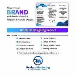Web & Print Paper Brochure Designing Service