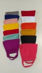 Multi Color Cotton Face Mask Washable and Reusable