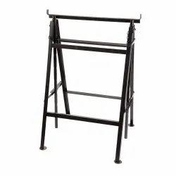 Grey Steel Crib Frames / Heavy Duty Trestle Frames, Size: Standard