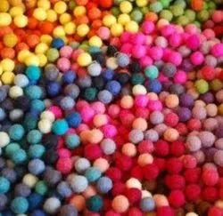 100% Wool Felt Pom Pom ,Felt Balls, Felting Colour Ball