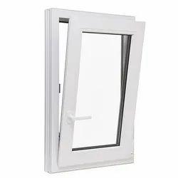 White Powder Coated Aluminium Tilt Window, For Residential & Commercial, Size/Dimension: 2 X 1 Feet