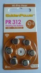 Golden Power 312 Hearing Aid battery
