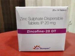 Zincofine-20 DT Tablets