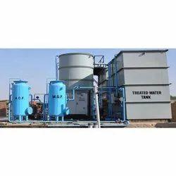 Commercial Effluent Water Treatment Plant