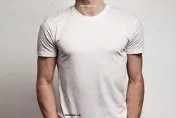 Half Sleeve Men Plain T Shirt