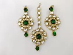 Earrings Tikka set