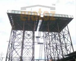 Fiberglass Water Reservoir Tank