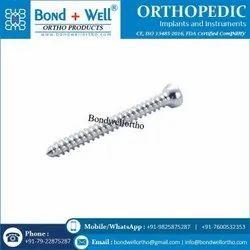 4.5 Mm Orthopedic Implants Cortex Screw