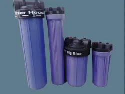 Blue Water Filter Housing