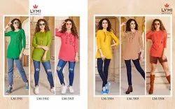Lymi (Kessi Fabrics Pvt. Ltd.) Mentos Rayon Slub Affordable Price Top Catalog