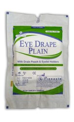 Eye Drape with Drain Pouch Code No P0001