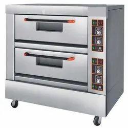 2 Deck 4 Tray Oven, Capacity: 4 Tray, 13.2 Kw