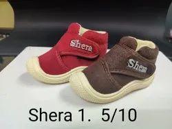 Daily wear Kids Winter Warm Shoes, Velcro, Size: 2-4 5-10
