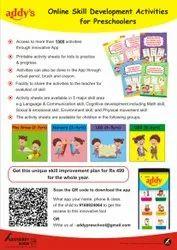 2 To 6 Years Online Skill Development Activities for Preschoolers