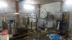 Automatic Mini Dairy Plant- 300 Liter per Hour or 2400 Liter Per Day