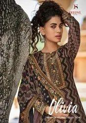 Deepsy Suits Olivia Premium Velvet Digital Print Suits Catalog Collection