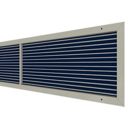 Air World Stationary Louver Aluminium Linear Grills (AC Vent Grills), For Ventilation