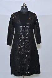 7050 B Ladies Woolen Kurti