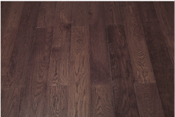 Karnav Dark Brown Wooden Flooring Service, Surface Finish: Matte, Thickness: 14 Mm