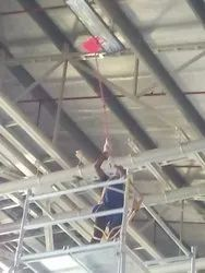 Manual HIGH ROOF CLEANING & SPIDER CONTROL FOR FACTORY