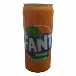 Orange 300 Ml Fanta Can Cold Drink, Liquid, Packaging Type: Bottle