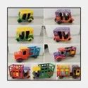 Wooden Vehicle Set Golu Doll
