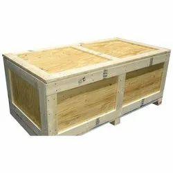 Edible & Non-Edible Moisture Proof Pinewood Box, For Shipping