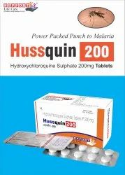 HUSSquin 200 Tablet Hydroxychloroquine Sulphate 200mg