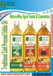 Traditional Cold Pressed Cooking Oil