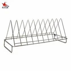 Nutristar Stainless Steel Stand for Kitchen / Plates Stand for Kitchen Size