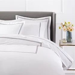WHITE 114 Plain Satin Fabric, For EXPORT, GSM: 100 To 200gsm