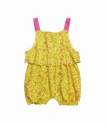 100% Cotton Sleeveless Baby Rompers