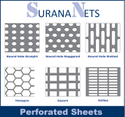 8ft High Perforated Sheets