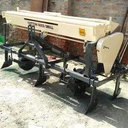 Hardeep Mild Steel Cotton Seed Drill Machine