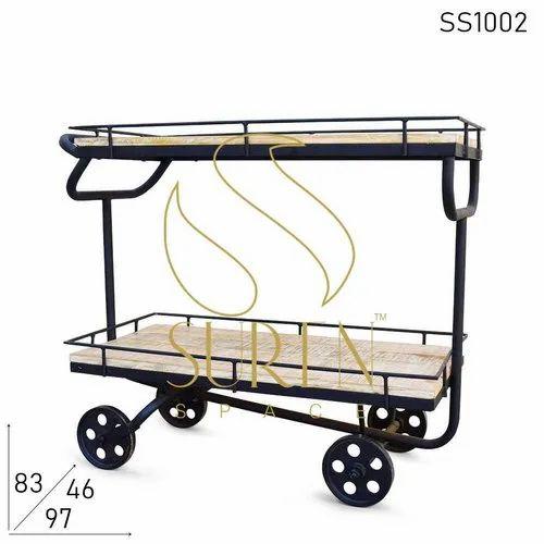 Hotel & Resort Kitchen Serving Cart