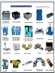 Civil Engineering Lab Testing Equipment