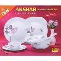 Akshar Melamine Flora Fine Tableware Dinner Set