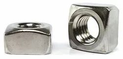 Polished Stainless Steel Square Nut