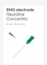 AMBU EMG NEEDLE CONCENTRIC DISPOSABLE TYPE, For Hospital