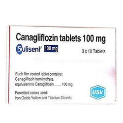 Sulisent 100 Mg Canagliflozin Tablet