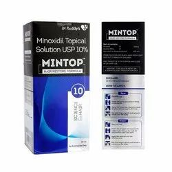 Mintop 5% - Minoxidil Solution For Scalp, Packaging Size: 60 Ml