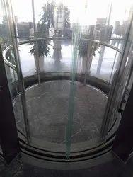 Automatic Door Glass Elevator
