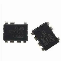 Black VIPER17L DIP IC