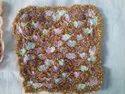 Crochet Gold Mat