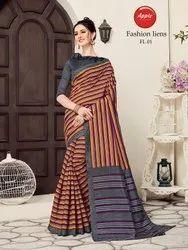 Formal Wear Linen Saree