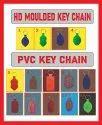 abs plastic key chains